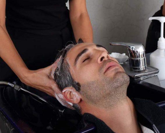 Peeling-Shampoo -Haircut-1