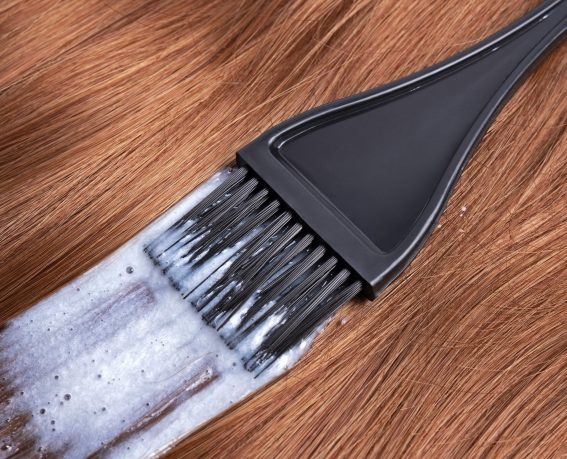 Process of dyeing hair